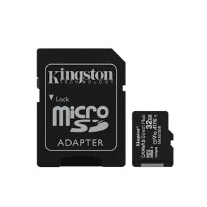 TARJETA SD MICROSDHC 32GB CANVAS SELECT PLUS C/ADAPTA KINGSTON