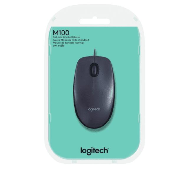 MOUSE OPTICO LOGITECH USB M100