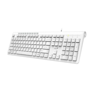 TECLADO MULTIMEDIA USB GENIUS SS 230 BLANCO