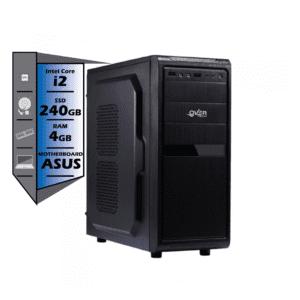 INTEL CORE 2 DUO DE 2.4 GHZ 4 GB RAM SSD HP 240 GB NUEVO MOTHER BOARD ASUS teclado y mouse
